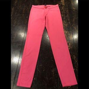 Hue/Women's/Pink/Strait Leg/M/Pant/New